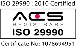 ISO Logo 29990;2010