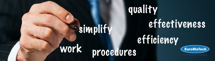 تبسيط وتطوير اجراءات العمل وبناء العمليات الإدارية - مستوى متقدم