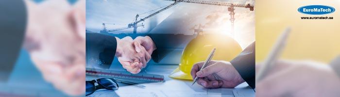 اعداد ومتابعة وتدقيق عقود الصيانة والخدمات