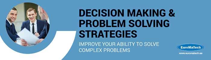 الإبداع في التعامل وحل المشكلات واتخاذ القرارات