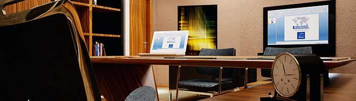 ادارة المكاتب باستخدام التكنولوجيا الحديثة