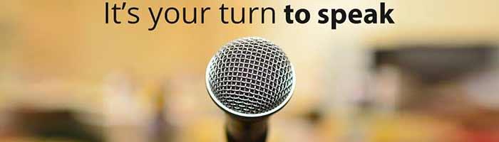 مهارات فن الخطابة والإلقاء المؤثر والتحدث للجمهور