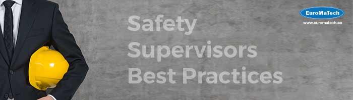مشرف السلامة والصحة المهنية - مستوى متقدم