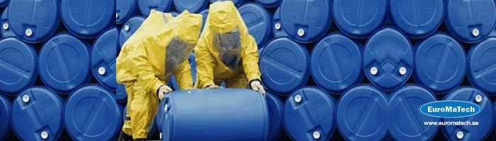 افضل الممارسات في إستخدام وتخزين ونقل المواد الكيميائية