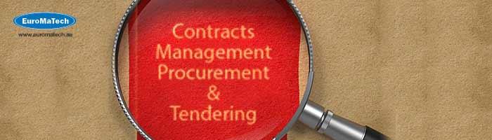 الأساليب المتقدمة في إدارة العقود والمشتريات والمناقصات