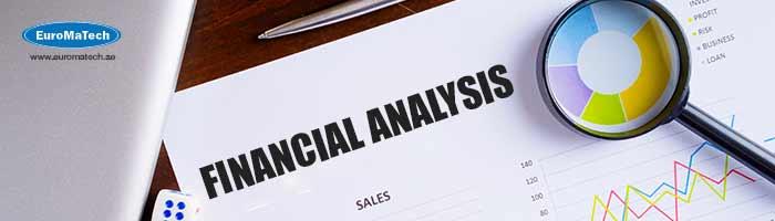 مراجعة الخطط المالية واعداد التحاليل المالية