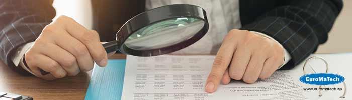 الإجراءات الحديثة في تدقيق البيانات والحسابات الختامية