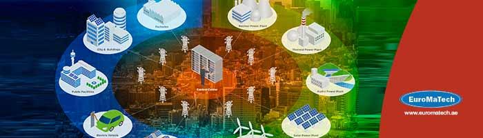 أنظمة إدارة مرافق الشبكة الكهربائية الذكية