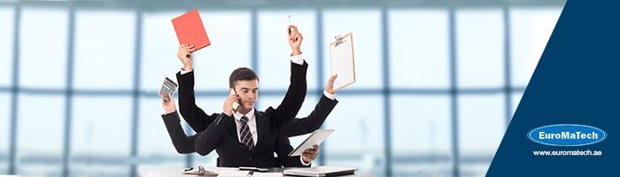 تحديد الأولويات وإدارة الوقت والتحكم في ضغوط العمل