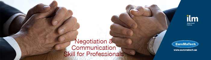 التفاوض المتقدم : الاستراتيجيات والعمليات لتحقيق نتائج مؤثرة - 10 ايام