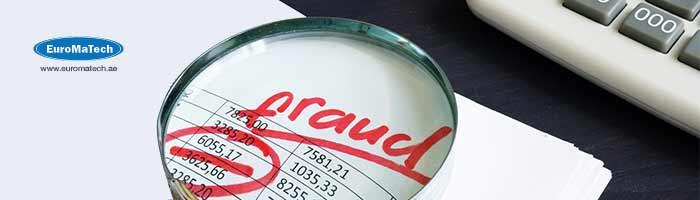 أكتشاف الغش والخطأ في العمليات المالية