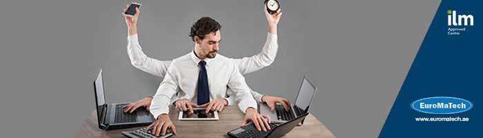 إدارة الوقت والاولويات والاهداف وتنظيم الأعمال والمهام