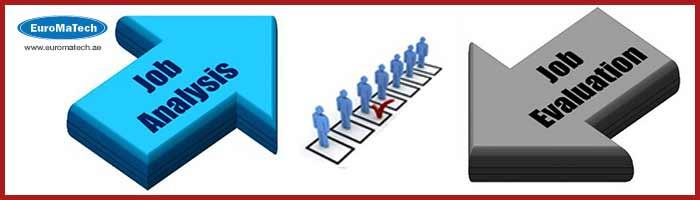 ترتيب وتحليل وتوصيف وتقييم الوظائف