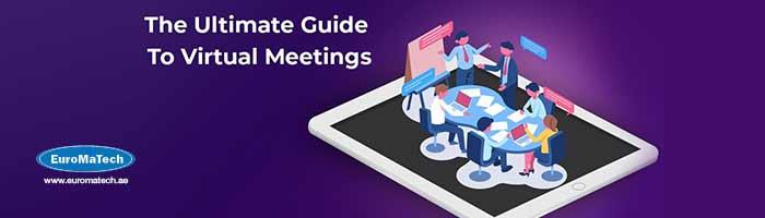 إتيكيت وبروتوكول إدارة الاجتماعات الإفتراضية