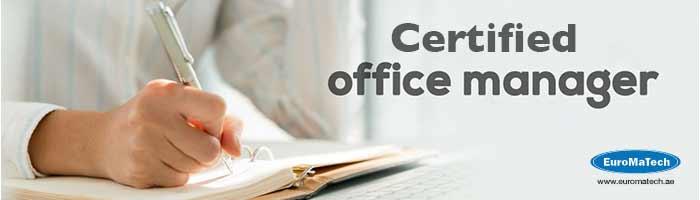 مدير مكتب معتمد Certified Office Manager