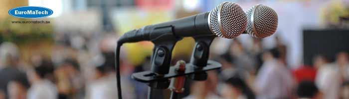 اتقان الخطابة والتحدث المؤثر واللغة الإقناعية